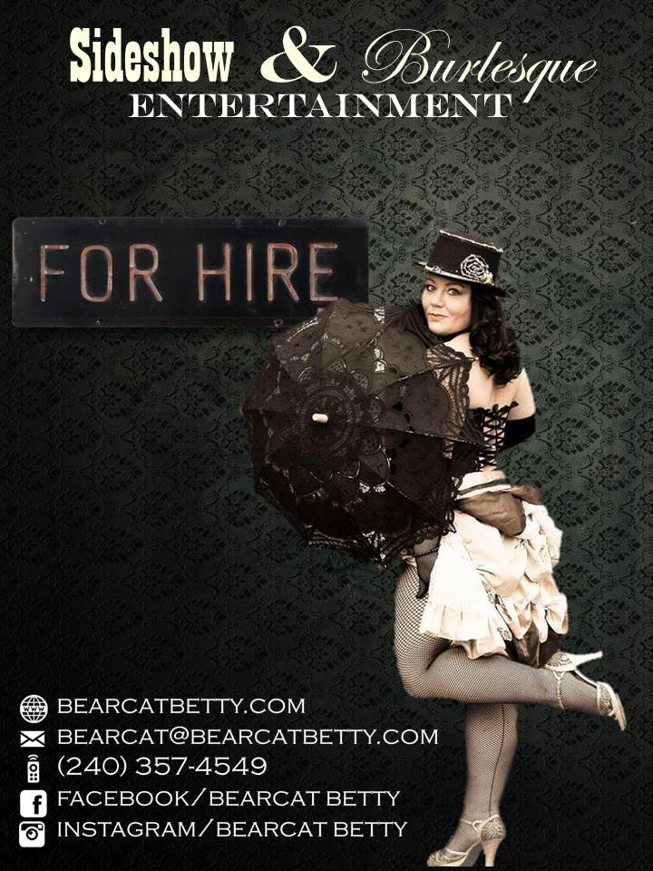 For Hire Flier